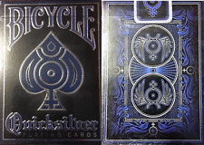 Bicycle Quicksilver Playing Cards – Limited Foiled Embossed Edition - SEALED