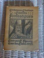 CONTES FANTASTIQUES - ERCKMANN CHATRIAN / 1926 / DESSINS
