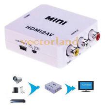 HDMI 2av HDMI a 3rca/av Convertitore Video Composito Audio 4 HD-DVD HDTC ps3 DV PC