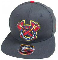 New Era Atlanta Braves black MLB Cooperstown Snapback Cap 9fifty Limited Edition