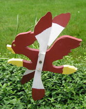 "Vintage Outsider Art Hand Craft Road Runner Bird Whirlygig 16"""