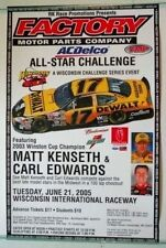 2005 Matt Kenseth/Carl Edwards Wisconsin Intnlernational Raceway Promo Poster