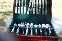 1935 Oneida flatware silverplate, Modern, lot of 61 hard to find pieces