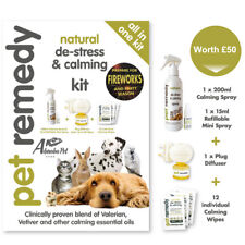 Pet Remedy 'all in one' kit Natural de-stress & Calming fireworks Dog Cat rabbit