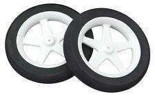 """Dubro 300MS Micro Sport Airplane Wheels 3"""" (2) pre-mounted 5 spoke foam tire"""