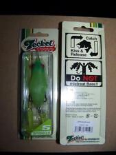 Teckel Sprinkler Frog Topwater Gamakatsu Hooks Lemon Lime #008 NEW
