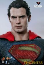 In Stock! Hot Toys MMS200 Man of Steel Superman Henry Cavill 1/6 Figure New