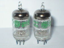 Matched pair GE 5654W ruggedised EF95 6AK5 pentode Valves tubes upgrade for 6J1P