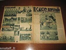 IL CALCIO ILLUSTRATO 1947/31-36=MILAN SAMPDORIA 2-4=MODENA TRIONFO IN SVIZZERA=