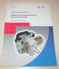 Audi / VW Elektrische Unterdruckpumpe für Bremskraftverstärker  -  Stand 2001!