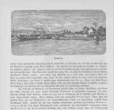 Romanshorn Hafen Bodensee Schloss Bodman HOLZSTICHE von 1883 Schweiz Suisse