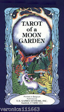 Tarot of a Moon Garden NEW Sealed 78 Cards Deck Traditional and mythic symbolism