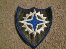 WWII US Army XVI 16th Corps Patch Cut edge