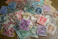 British India 1880s-1940s 50 Different Stamps Used - British Empire Stamps