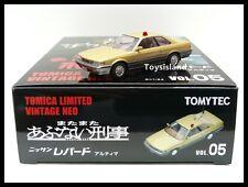 Tomica Limited Vintage NEO LV VOL.05 Nissan Leopard Ultima POLICE 1/64 TOMYTEC 5
