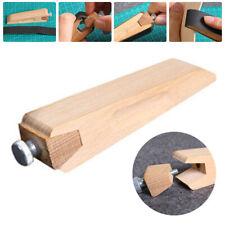 Leder Schleifstein Holzgriff Abziehen Werkzeug Zweiseitig Polen Mischung