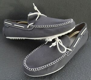 Cole Haan 13 M Grant Grand OS Canvas Driving Moc Loafer Moccasin Slip-On C13449