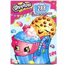 Licensed Moose Shopkins Collectible Activity Book: 288 Pages Coloring