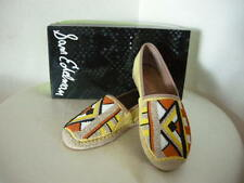 Authentic Sam Edelman Maris Beaded Espadrille Shoes Size 6.5