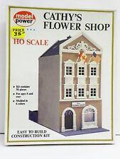 "MODEL POWER HO U/A ""CATHY'S FLOWER SHOP"" PLASTIC MODEL KIT #545"