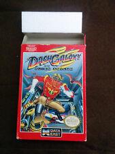 DASH GALAXY IN THE ALIEN ASYLUM 1989 Nintendo NES Box Only
