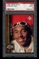 1996-97 Upper Deck Kobe Bryant Rookie PSA 9 Mint RC #58 Los Angeles Lakers