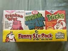Ron English Popaganda Cereal Killers Funny Six (Sex) Pack Black Light Magic Set