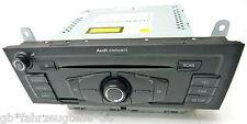 AUDI A5 8F 8T A4 8K Q5 8R Orig. Radio mit SSD CD Concert PANASONC 8T1035186C
