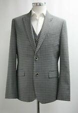 Men's Unbranded Checked Grey Blazer (40R).. Ref: 7207