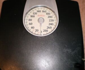 Sunbeam Full View Dial Scale Easy-To-Read SAB602-05 (Accurate Up To 330 Lbs)