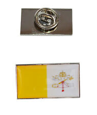 Vatican City Flag Tie Pin with free organza pouch