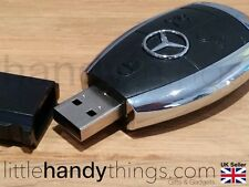 Benz Car USB 16GB Flash Drive Pen/Memory Stick Portable Storage Key Ring Gift