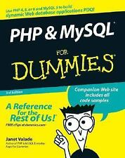 Php and MySql for Dummies by Janet Valade (2006, Paperback, Revised)