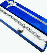 MICHAEL DAWKINS Starry Night Double Link Toggle Bracelet *NWT* STERLING SILVER