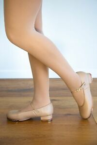 TAN TAP DANCE SHOES  Premium Leather With Buckle  Sizes Childs US9 to Adults US8