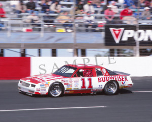 Original 1980's Nascar Winston Cup Darrell Waltrip Bud Monte Carlo Photo Slide