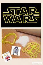 R2D2 Star Wars Reino Unido Vendedor Masita Cortador Fondant Pastel Decoración Molde