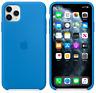 iPhone 11 Pro Max Apple Genuine Original Silicone Case Cover - Surf Blue