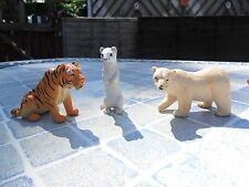 ELC / Early Learning Centre - Polar Bear, Tiger & Ermine (White Mink)