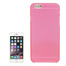 "COVER 0.3MM POLICARBONATO PER APPLE IPHONE 6 4.7"" ULTRA SLIM ROSA PINK CASE TPU"