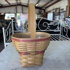 ROYCE CRAFT BASKET Medbery Easter Basket fixed handle 1999 Ohio W/ Protector