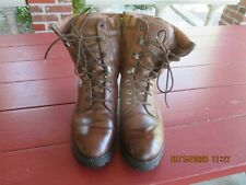 MEN'S HERMAN SURVIVORS HIKING/WORK BOOTS LEATHER INSULATED SIZE 10.5M