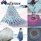 Indian Tapestry Beach Sleeping Mat Wall Hanging Mandala Hippie Gypsy Throw Cover