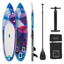 Paddle Board SUP Stand UP Surf Gonfiabile Accessori Padding 305x10x77  Blu