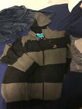 56d5303750d Cookies Sf Oxford French Terry Stripped Zip Up Hoody Black 4xl