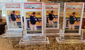 4 card Lot 1995 Derek Jeter Upper Deck Minor League Future Stock Foil PSA 9 MINT