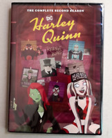 Harley Quinn: The Complete Season 2 (DVD, 2-Disc) USA Seller, Fast Shipping!!!
