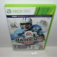Madden NFL 25 (Microsoft Xbox 360, 2013) Tested & Working