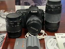 Canon EOS 20D WITH LENSES - BODY & 3 LENSES 18-55 MM, 28-80 MM & 75-300 MM