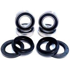 Both Front Wheel Bearing Seal Kits for Yamaha Kodiak 400 450 2x4 4x4 All Years